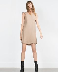 Image 1 of BUTTON DETAIL DRESS from Zara