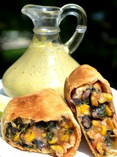 Southwestern Egg Rolls - So delish. They are full of hearty ingredients, easy to make and I am so impressed with how yummy they are.