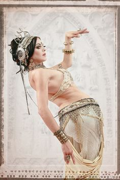 Apsara tribal fusion bellydance - love the costume but what I really want is get myself that twisty again!
