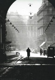 by Claude Renaud Les Halles, Paris, 1963.