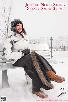 Jupe de Neige STESSY par Stessy Chenail Designer