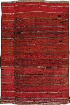 Vintage Moroccan Rug, No. 22862 - 4ft. 11in. x 7ft. 4in.