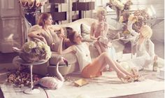 Powder Colours and Glamour for Harrods! | Art And Chic