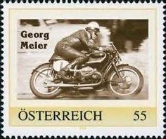 """... Marke - Motorrad - Rennfahrer Georg Meier - """" SCHORSCH"""