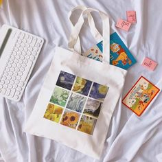 Classic Aesthetic Canvas Tote Bag – NotebookTherapy Source by aesthetic Sacs Tote Bags, Diy Tote Bag, Canvas Tote Bags, Reusable Tote Bags, Painted Canvas Bags, Printed Tote Bags, Aesthetic Bags, Types Of Handbags, Diy Vetement