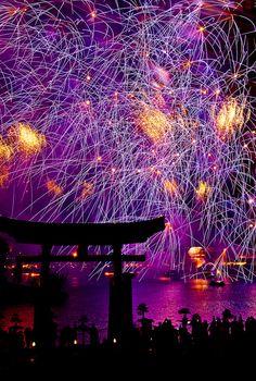 Disney World, Epcot: Fireworks over World Showcase