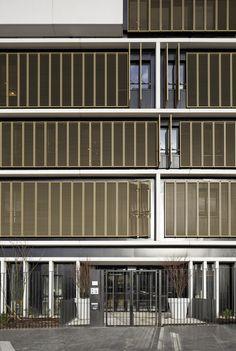 Gallery - Welfare Centre for children and teenagers in Paris / Marjan Hessamfar & Joe Verons architectes associes - 2