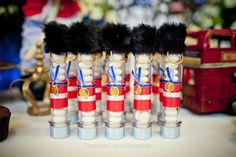 Festa Soldadinho, London Theme, Londres, Decoração Soldadinho de Chumbo