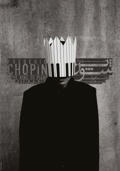 Chopin the king of piano / Poster designed for special category of warsaw poster biennial 2010 chopin anew / on TTL Design