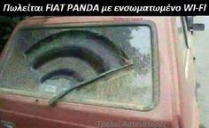 I sell car with Wi Fi. Info and offers here 👇🏻 Fiat Panda, Funny Times, Funny People, Spanish Humor, Funny Spanish, Car Memes, Best Memes, Laugh Out Loud, Puns