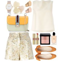 Go now. by shanelala on Polyvore featuring moda, ADAM, Dolce&Gabbana, Valentino, The Horse, Bobbi Brown Cosmetics, Yves Saint Laurent, NARS Cosmetics and Giorgio Armani