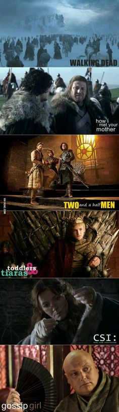 """""""Game Of Thrones"""" Photos Are Turned Into Posters Of Drama Series That You Would Not Want To Miss"""
