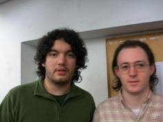 Nazareno (Der.) junto a Sandro Mareco
