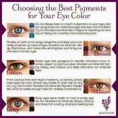 My combination is for hazel eyes,whats yours?