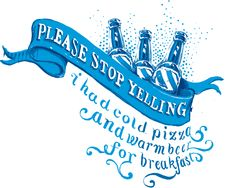 """""""Please stop yelling"""" t-shirt design - Dado Queiroz - Lettering, design and illustration"""