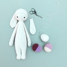 """lalylala »libre de conejito kit mod"""" RITA el conejo """"para muñecas lalylala"""