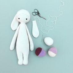 "lalylala » free bunny mod kit ""RITA the rabbit"" for lalylala dolls"