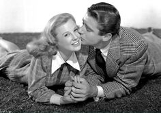 "June Allyson and Peter Lawford, ""Good News"", 1947."