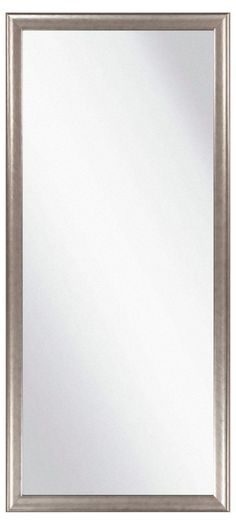 Floor Mirror, Pewter