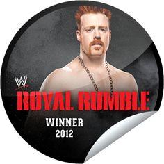 Steffie Doll's WWE Royal Rumble Winners Series: Sheamus Sticker | GetGlue