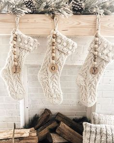 Are you searching for pictures for farmhouse christmas decor? Check out the post right here for perfect farmhouse christmas decor ideas. This kind of farmhouse christmas decor ideas appears to be absolutely wonderful. Christmas Mantels, Noel Christmas, Winter Christmas, Christmas Fireplace Decorations, Christmas Stocking Decorations, Hobby Lobby Christmas, Farmhouse Christmas Decor, Rustic Christmas, Pottery Barn Christmas