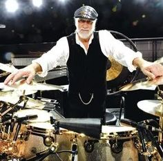 Mick Fleetwood—The definition of a workingman's drummer, Fleetwood was the leader of a talented, if largely unrecognized, British blues band, until Stevie Nicks and Lindsey Buckingham joined the group and, well, made them famous.