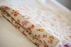 Strawberry Chic: DIY baby blanket
