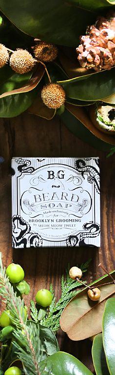 Brooklyn Grooming Beard Soap! #handmade #natural #beards #organic #brooklyngrooming