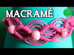 Macrame rosa pandora   Facil - YouTube