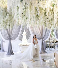 47 Affordable White Wedding Dress Design Ideas For The Special Day is part of Wedding decorations - White wedding is additionally a cool idea since it's rather straightforward to adhere to the scheme and very fashionable The […] Wedding Reception Venues, Wedding Stage, Wedding Ceremony, Church Wedding, Wedding Backdrops, Wedding Sparklers, Ballroom Wedding, Simple Wedding Decorations, Wedding Themes