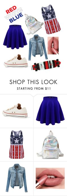 """Untitled #222"" by musicallovemagic ❤ liked on Polyvore featuring Converse, Charlotte Russe and LE3NO"