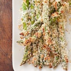 Meatless Monday: Parmesan-Crusted Asparagus   The Public Kitchen   Food   KCET