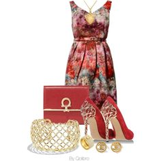 """""""red wine"""" by qolibrodesigns on Polyvore"""