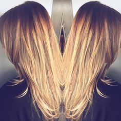Warm blonde hair painting ❤️ :: RedBloom Salon