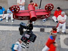 LineCam Systems: Innovative cable-assisted media capture. by Nick Braun, via Kickstarter. Featuring a ServoCity PT785-S pan and tilt system
