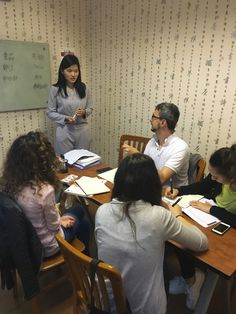 Chinese lessons in Shanghai   FourStars Stage in Cina