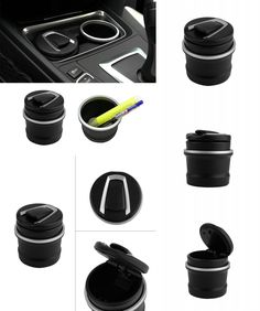 [Visit to Buy] CAUTO   car Ash Tray Ashtray Storage Cup With LED for BMW 1 3 4 5 7 Series X1 X3 X5 X6  Dropping Shipping #Advertisement