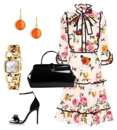 Spring Fashion by kmags4 on Polyvore featuring polyvore, fashion, style, Gucci, Prada, Syna and clothing
