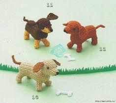 Схемы вязания собачек амигуруми (1) (700x624, 232Kb)