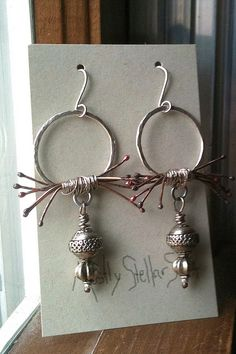 artisan jewelry earrings,  I like these the most so far.