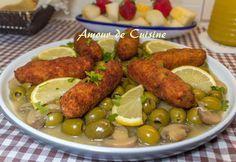 tajine d'olives aux croquettes de poulet Bonjour tout le monde, Un plat qui va bien faire plai...