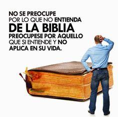 """""""La Biblia no es difícil de entender, simplemente es difícil de aceptar"""" — Steve Lawson....""""Porque la palabra de Dios es viva y eficaz, y más cortante que toda espada de dos filos; y penetra hasta partir el alma y el espíritu, las coyunturas y los tuétanos, y discierne los pensamientos y las intenciones del corazón""""..Hebreos 4:12  ღ✟"""