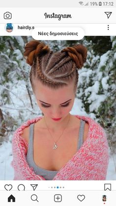 Feed In Braids Hairstyles, Protective Hairstyles For Natural Hair, Braids For Long Hair, Weave Hairstyles, Pretty Hairstyles, Natural Hair Styles, Long Hair Styles, Gypsy Hair, Viking Braids