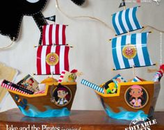 Jake and the Neverland Pirates Ship for Candy box door ILovePrinting