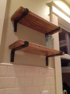 4-Raw-Metal-Shelf-Brackets-Handmade-12-Shelf-12x4