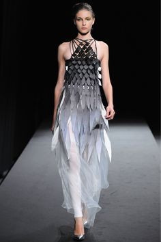 Wow! love the #style by Atsushi Nakashima, Tokyo #Fashionshows Spring 2013 RTW