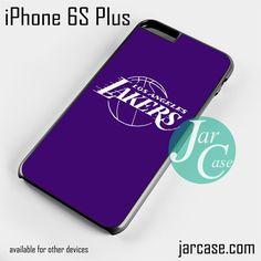 purple lakers Phone case for iPhone 6S Plus and other iPhone devices