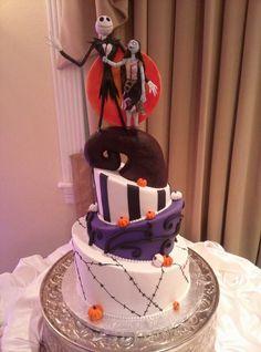 Nightmare Before Christmas Groom's Cake