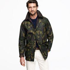 Barbour® Bourne camo jacket