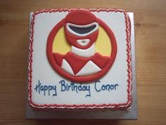 Pin Power Rangers Birthday Party Table Decorations Cake On Pinterest